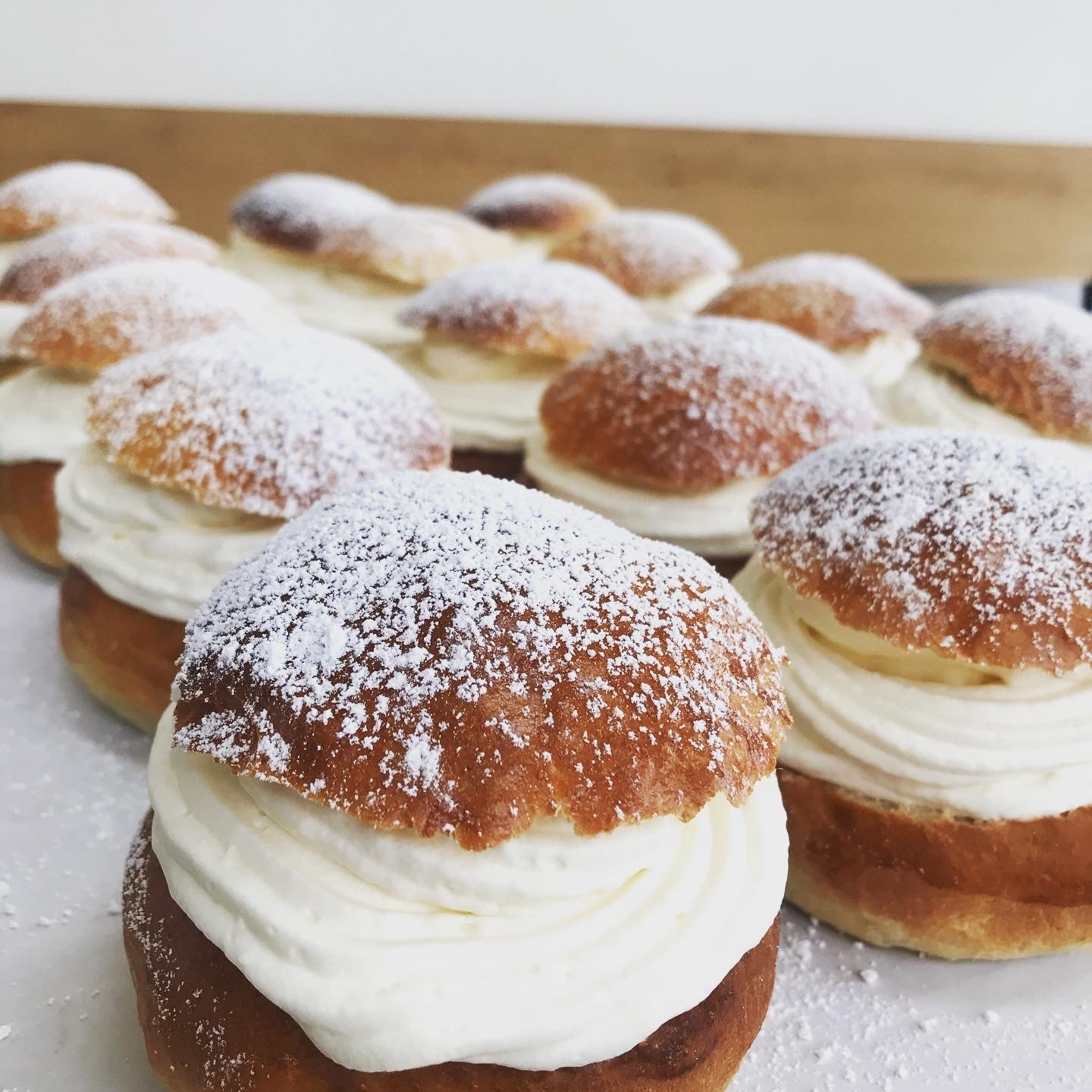 .     . SEMLOR .     .      SHROVE TUESDAY BUNS
